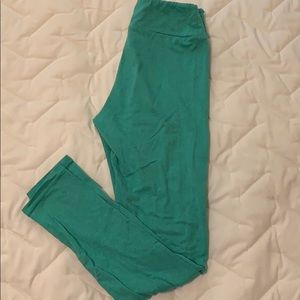LuLaRoe Minty Green Leggings